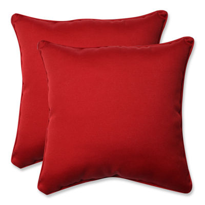 Pillow Perfect Pompeii Square Outdoor Pillow - Setof 2