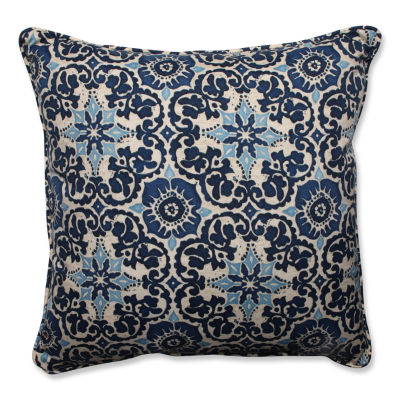 Jcpenney Floor Pillows : Pillow Perfect Woodblock Prism Square Outdoor Floor Pillow - JCPenney