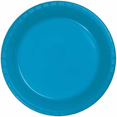 Touch of Color Plastic Banquet Plates