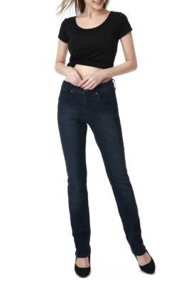 phistic Women's Jamie Zip Front Straight Leg Jeans