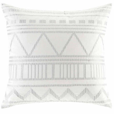INK + IVY Ava Embroidered Decorative Throw Pillow