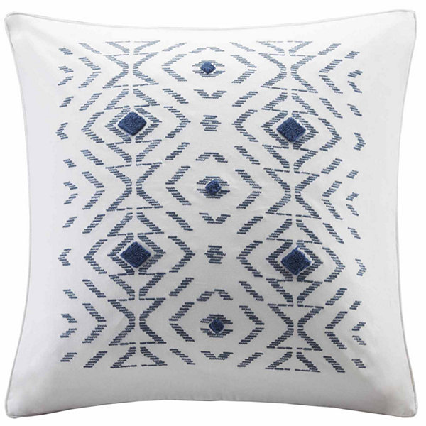 INK + IVY Cybil Embroidered Decorative Throw Pillow