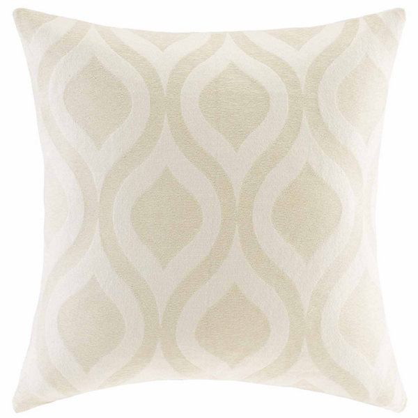 Madison Park Bergamo Chenille Square Throw Pillow