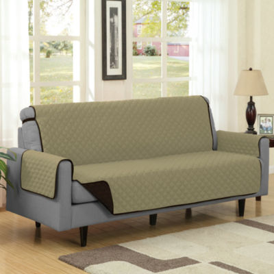 Reversible Quilted Polyester Microfiber Sofa Furniture Protector