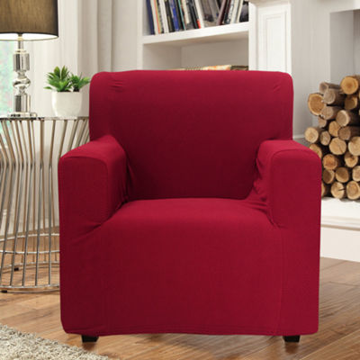 Sally Form Fit 4 Way Stretch Furniture Chair Polyester Slipcover