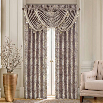Queen Street Paulina Rod-Pocket Curtain Panel