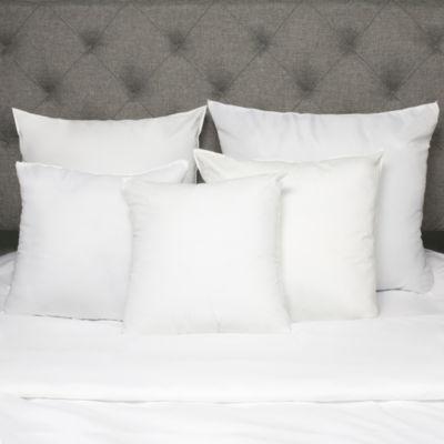 "Down Alternative Polyester 20"" x 20"" Square Euro Pillow Insert"