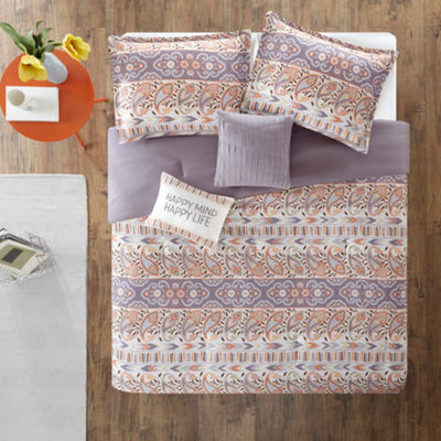 Intelligent Design Mae Ultra Soft Microfiber Bohemian Comforter Set