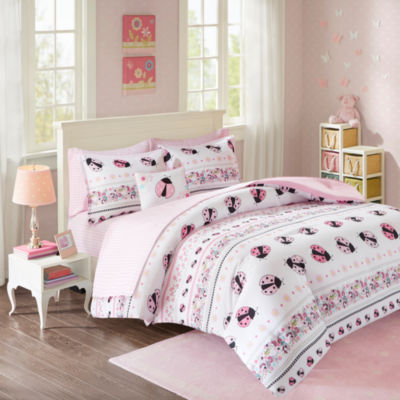 Pink Lady Ultra Soft Microfiber Comforter Set