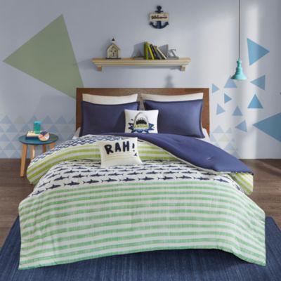 Urban Habitat Kids Aaron Cotton Stripes Comforter Set