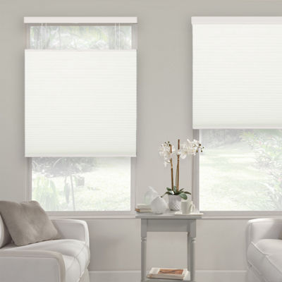 "Liz Claiborne ¾"" Single Cell Light-Filtering Custom Cordless Top Down Bottom Up Cellular Shade"
