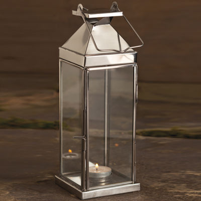 """St. Croix Trading 14"""" Tall Candle Lantern"""""""