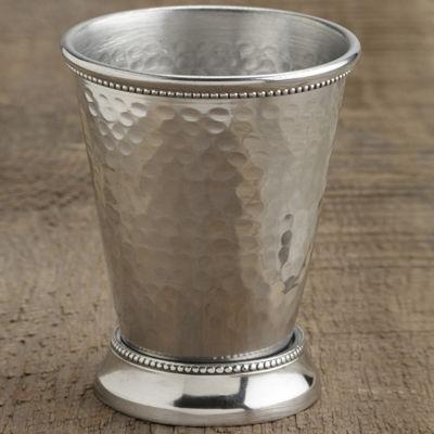 St. Croix Trading Hammered Aluminum Vase