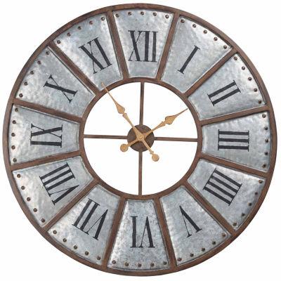 INK + IVY Verona Iron Wall Clock