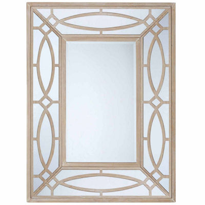 Madison Park Ethan Natural Wood Frame Mirror