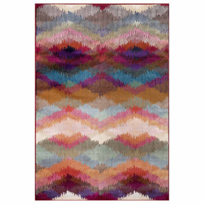 World Rug Gallery Distressed Modern Geometric Rectangular Rugs
