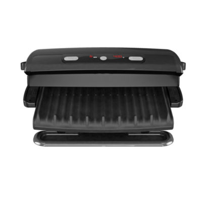George Foreman® 6-Serving Removable Plate & Panini Grill With Digital Temperature