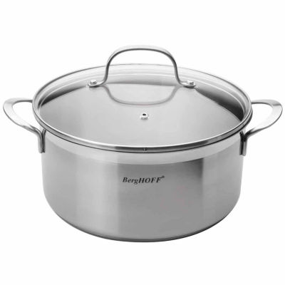 BergHOFF Bistro Covered Stockpot 4.8-qt.
