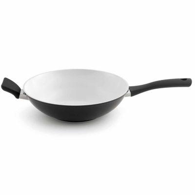 "BergHOFF Eclipse Wok Pan 11"" Black & White """