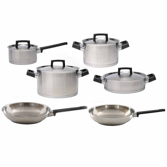 BergHOFF RON 18/10 SS 10pc Cookware Set