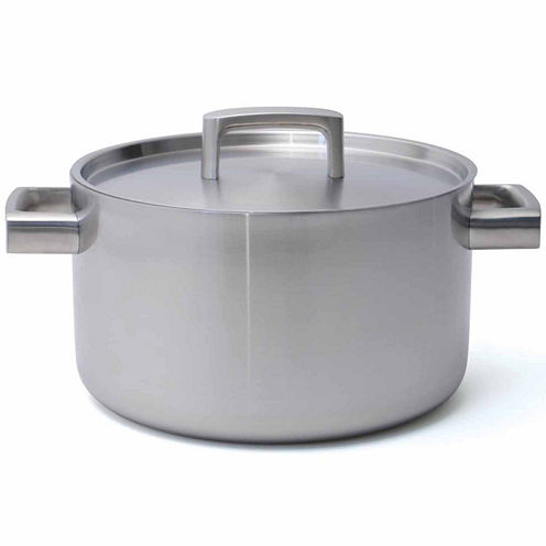 """BergHOFF RON 5-ply Covered Stockpot 10"""" 6.4-qt."""""""