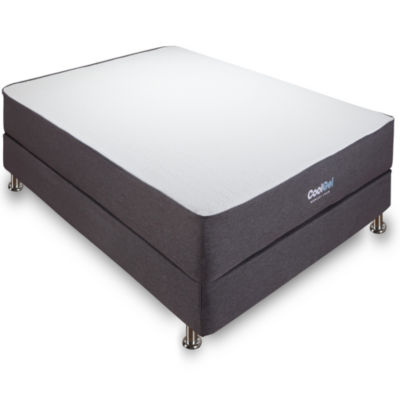"Ventilated 10.5"" Gel Memory Foam Mattress"