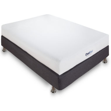 "Ventilated 6"" Gel Memory Foam Mattress"