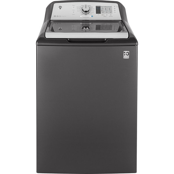 GE® ENERGY STAR®  4.6 DOE cu. ft. Stainless Steel Capacity Washer