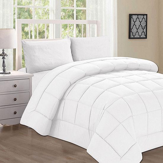Elegant Comfort Goose Down Alternative Double-Filled Comforter