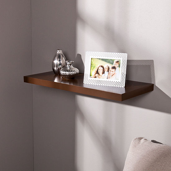 JCPenney Home Chalet 24-Inch Floating Shelf
