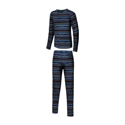 Terramar Power Play 2-PC Base Layer Set - Boys 4-20