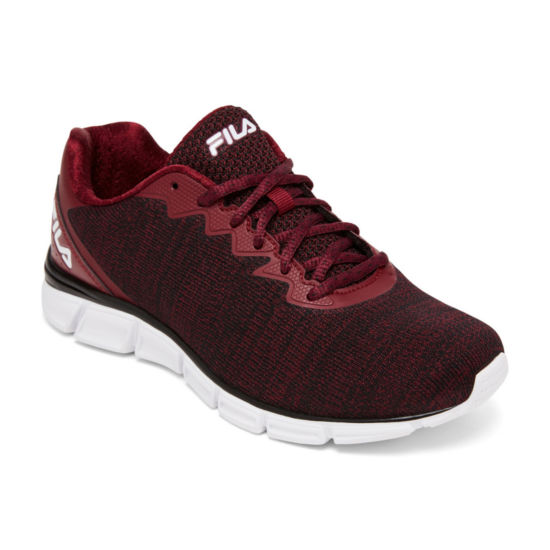 Fila Memory Upsurge Womens Running Shoes Lace-up