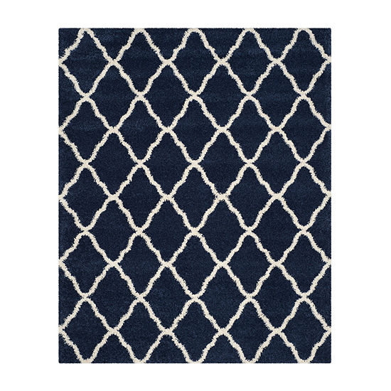 Safavieh Hudson Shag Collection Weldon Geometric Area Rug