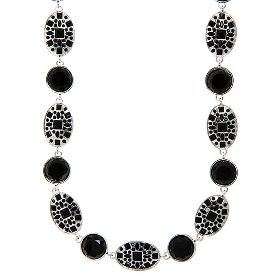 Gloria Vanderbilt 16 Inch Link Collar Necklace