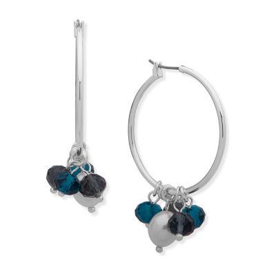 Gloria Vanderbilt 50.8mm Hoop Earrings