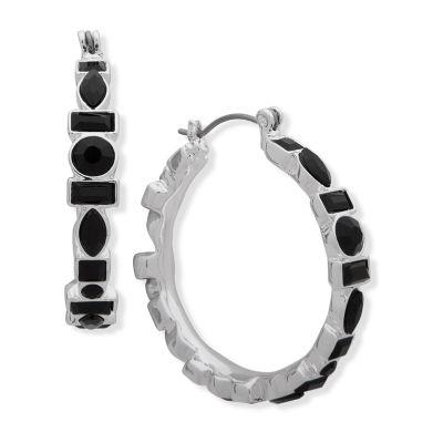 Gloria Vanderbilt 31.8mm Hoop Earrings