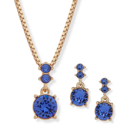 Gloria Vanderbilt Gold Tone 3-pc. Jewelry Set