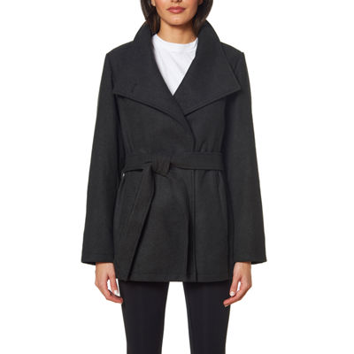 Details Heavyweight Belted Peacoat