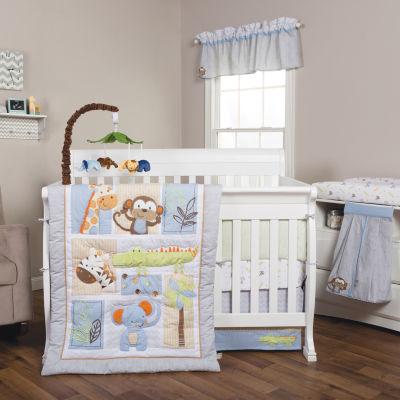 Trend Lab® Jungle Fun 6-pc. Crib Bedding Set