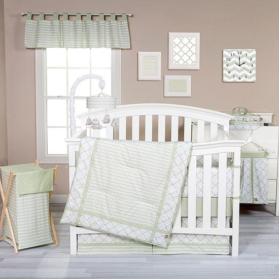 Trend Lab® Sea Foam 3-pc. Crib Bedding Set
