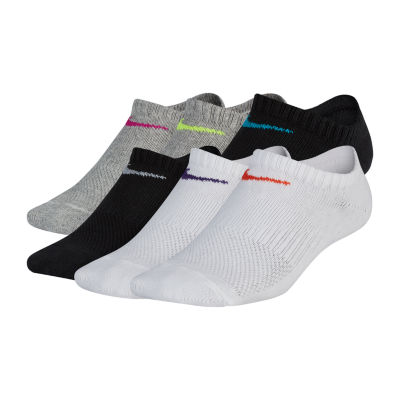 Nike Lightweight Boys 6 Pair No Show Socks-Big Kid