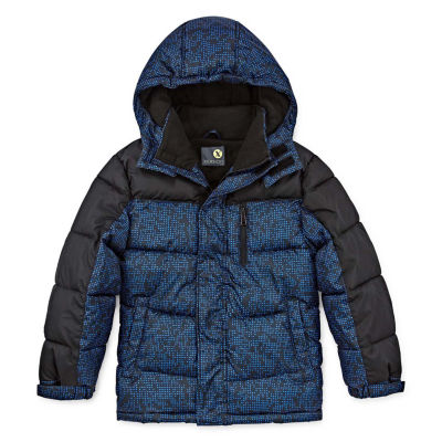Xersion - Boys Water Resistant Heavyweight Puffer Jacket Husky-Big Kid