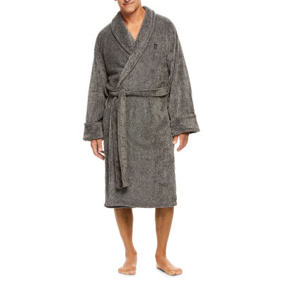 Haggar Marled Fleece Robe - Men's