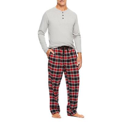 Haggar 2 Piece Cotton Flannel Set - Men's