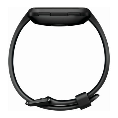 Fitbit Versa Unisex Black Smart Watch-Fb504gmbk