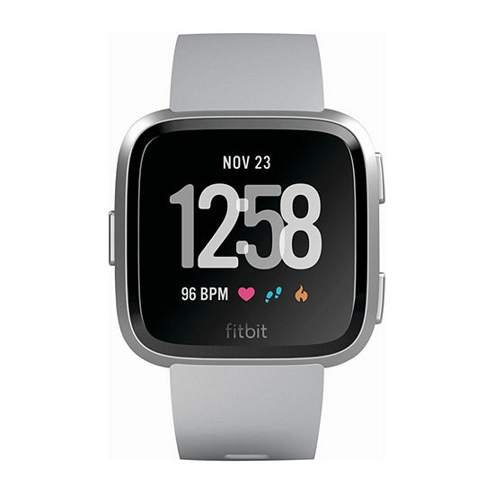 Fitbit Versa Unisex Adult Gray Smart Watch-Fb504srgy