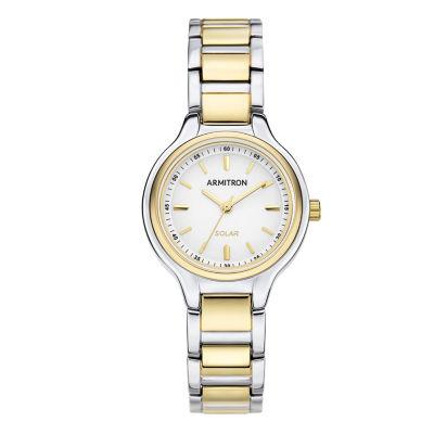 Armitron Armitron Womens Two Tone Bracelet Watch-75/5625wttt