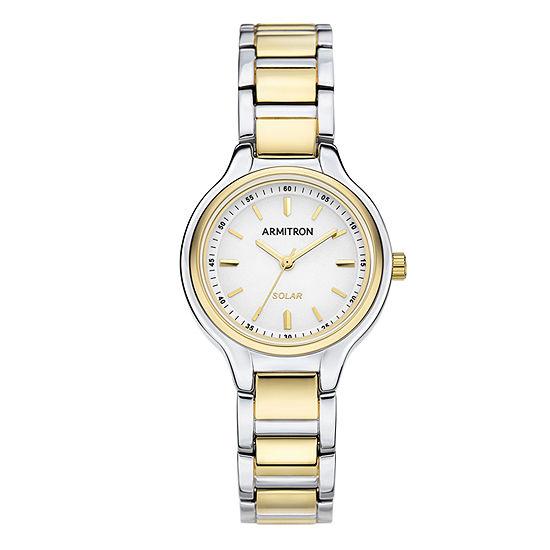 Armitron Womens Two Tone Bracelet Watch-75/5625wttt