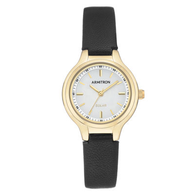Armitron Womens Black Strap Watch-75/5633wtgpbk