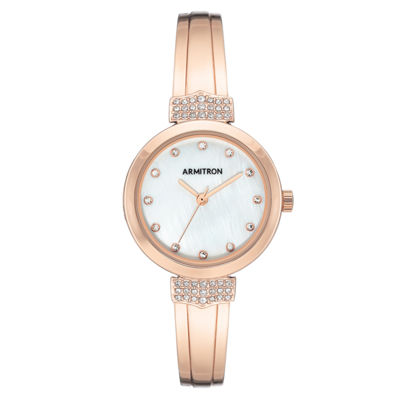 Armitron Womens Rose Goldtone Bracelet Watch-75/5637mprg